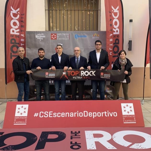 Diputació incorpora l'innovador ultratrail per etapes 'Top of the Rock'