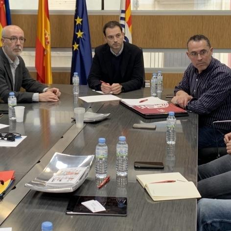 Diputación participa en la reunión de coordinación técnica de La Vuelta en la provincia