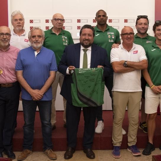 Diputación constata su alianza con el Playas de Castellón