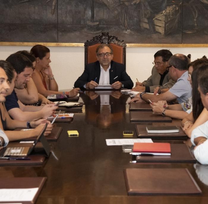 La Diputación aprueba ayudas por valor de 100.000 euros a 40 clubes de deporte base