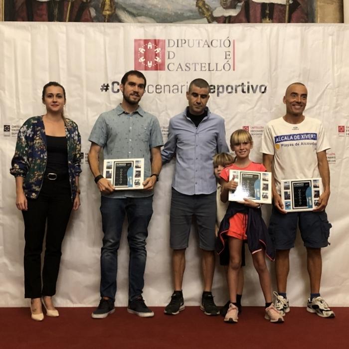 María Ángeles Lozano e Iván Portolés ganan el VI  Circuito 10K Diputació de Castelló
