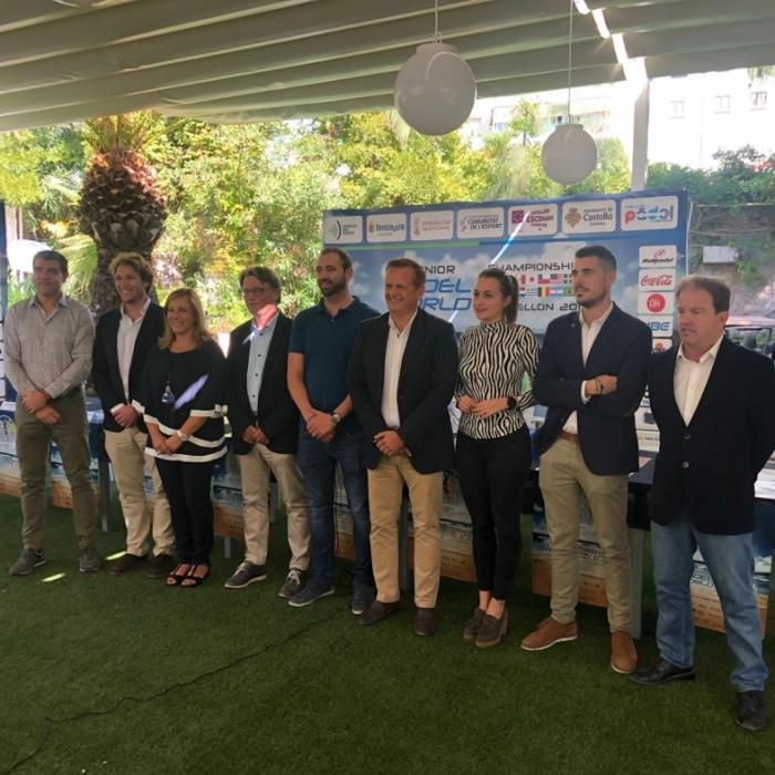 Castellón acoge del 12 al 19 de octubre el Campeonato Mundial de Pádel con el apoyo de Diputación