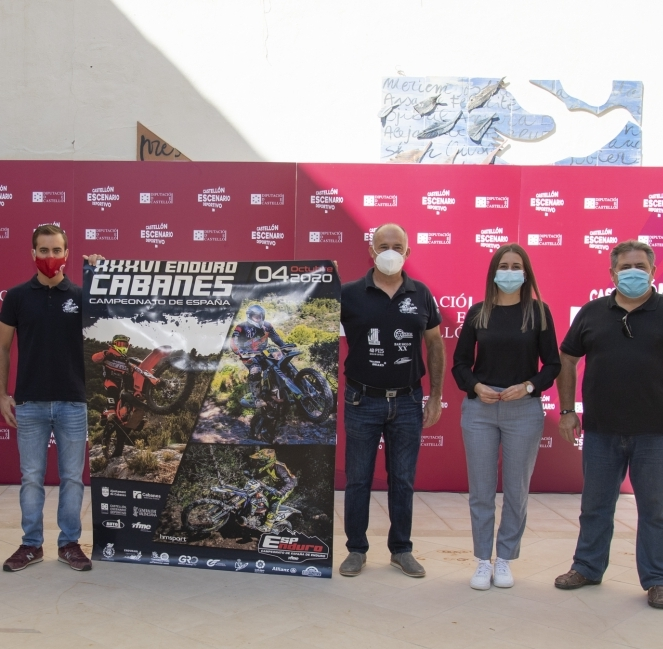 La Diputación patrocina la prueba del Campeonato de España de Enduro en Cabanes que generará un impacto en la provincia de alrededor de 45.000 euros