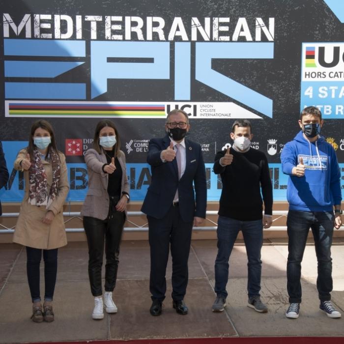 José Martí celebra la llegada de 500 ciclistas de 40 países para participar desde el jueves en la IV Mediterranean Epic