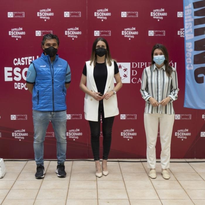 Tania Baños destaca la importancia de reactivar las competiciones deportivas como la SwimRun Costa Azahar para comenzar a recuperar la normalidad