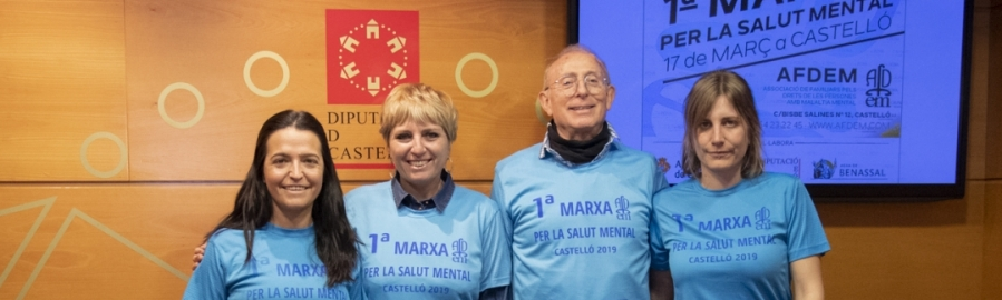 Diputación colabora con la 'I Marxa per la Salut Mental'