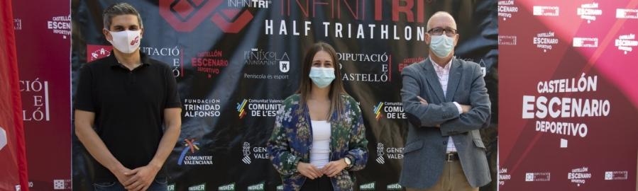 La Diputación subvenciona con 25.000 euros la VIII Infitri Half Triathlon de Peñiscola, que se celebrará el domingo 18 de octubre