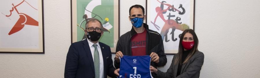 José Martí y Tania Baños muestran su apoyo a Pablo Herrera en su camino hacia Tokio 2021